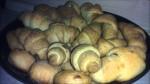 Солени мини-кроасанчета със сирене и кашкавал