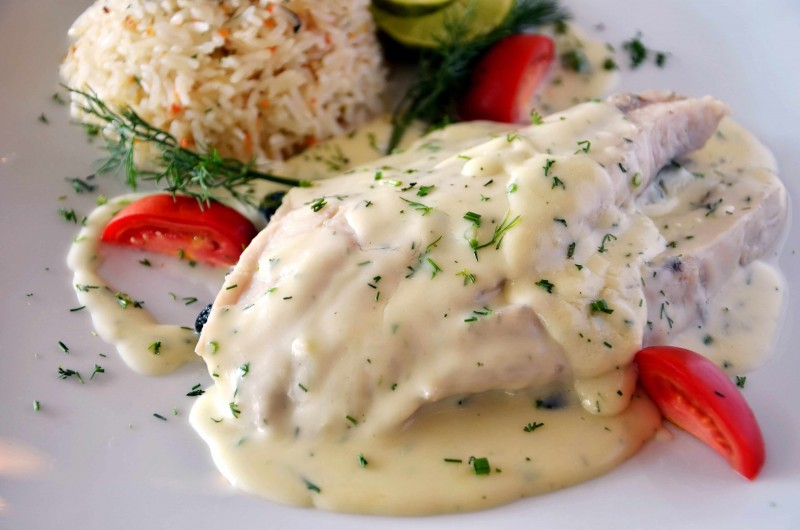 for Creamy fish taco sauce