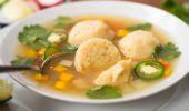 Вегетарианска супа топчета