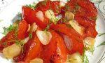 Уникална вкусотия-запечени месести домати с чесън и билки