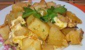 Картофи с вкусна заливка на фурна