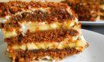 Изключително вкусна торта без печене